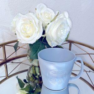 Starbucks TALL Matte Gray Ceramic Mug